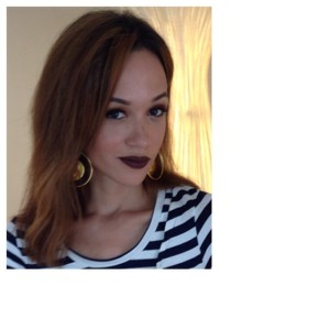 Television personality, Eku Edewor in LimeCrime