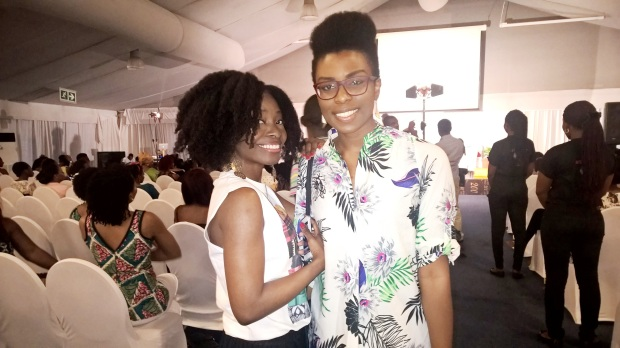 Kinky Apothecary Founder, Nibi Lawson and Cynthia Kamalu of EbonyLIfeTV