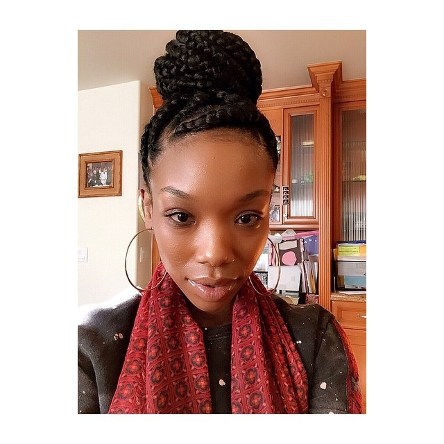 Brandy S Natural Hair Inspiration Hair And Beauty In Nigeria